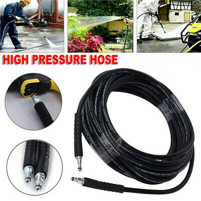 £11.89 • Buy 6M-15M High Pressure Cleaning Water Hose Washer Replacement Pipe For Karcher K