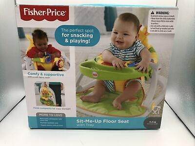 £12.50 • Buy 1752 Fisher-Price Giraffe Sit-Me-Up Floor Seat, Portable Baby Chair Or Seat