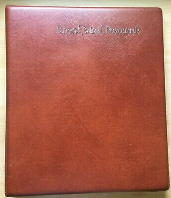 £22.99 • Buy 1 X ROYAL MAIL BROWN POSTCARD ALBUM & 20 PAGES/SLEEVES, HOLDS PHQ CARDS (empty)