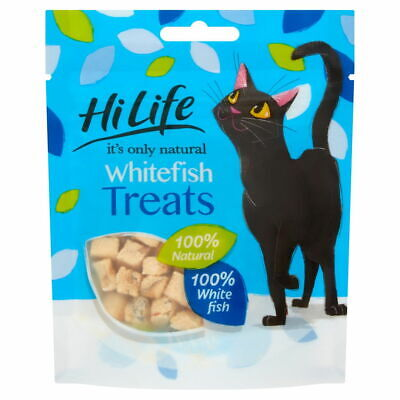 £20.26 • Buy Hilife  It's Only Natural Cat Pouch Whitefish Treats 10g (Pack Of 12)