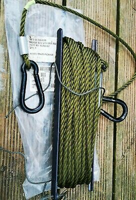 £13.99 • Buy Clansman Radio Racal 8 Meter Middle Mast Guy Rope Army Tent Gulf War Old Stock