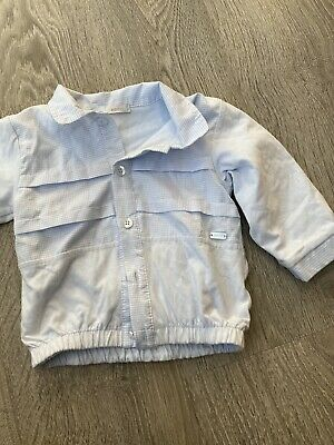 £4.90 • Buy Coco Baby Boy Jacket Baby Blue 6-12 Months
