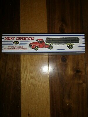 £35 • Buy French Dinky 36A Tracteur Tractor Willeme Log Carrier Mint And Boxed Original...