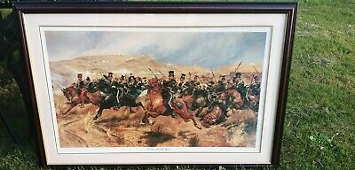 £25 • Buy Large Framed Print - The Charge Of The Light Brigade By Richard Caton Woodville