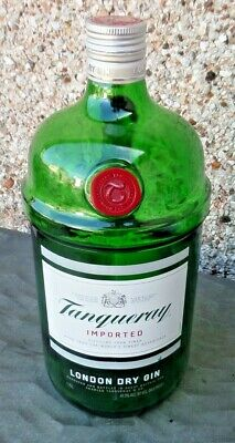 £12.99 • Buy Display Empty Bottle Tanqueray Gin 1.75 Ltr Usa Empty