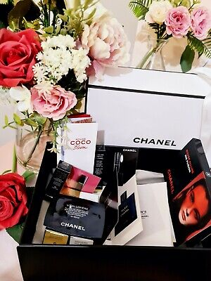 £39.99 • Buy CHANEL Makeup Skincare Perfume Samples In Giftbox Rouge Allure Laque +more!🌺NEW