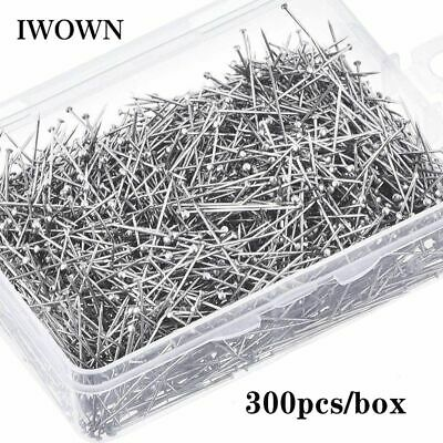£5 • Buy Sewing Head Pins Fine Satin Straight Quilting Stainless Steel Dressmaking Tools