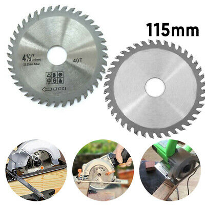 £4.09 • Buy 115mm Circular Saw Blade Disc Wood Cutting 4.5  40 Teeth Fits For Angle Grinder