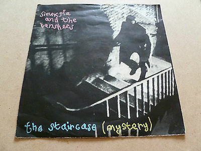 £18 • Buy Siouxsie And The Banshees,7  Vinyl, Staircase Mystery (1979) Unplayed.