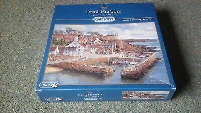 £4.50 • Buy Gibsons 1000 Piece Jigsaw Puzzle - Crail Harbour -Terry Harrison