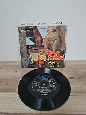 £3.74 • Buy Old Pinky And Perky Out West 45 Rpm Record. Mono Colombia Records