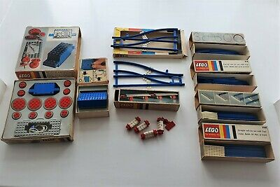 £12.60 • Buy 1960's Era Lego Train Components; Motor, Battery Pack, Points And Tracks