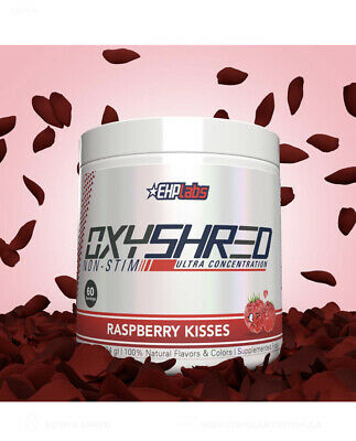 AU55 • Buy Ehp Labs Oxyshred Raspberry Kisses- Non Stim- Brand New- New Flavour!