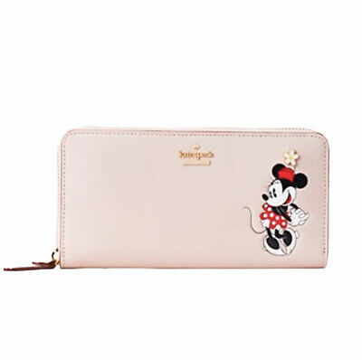 $ CDN145.69 • Buy Kate Spade New York X Minnie Mouse Lacey Wallet Zip Around Disney New With Tag