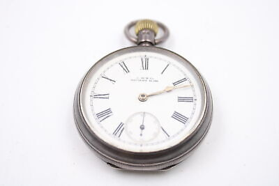 £21.02 • Buy Vintage Gents WALTHAM .925 SILVER Cased Open Face POCKET WATCH Hand-Wind (107g)