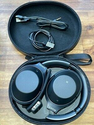 AU239.81 • Buy Sony WH1000XM2 Wireless Noise Cancelling Bluetooth | On Ear Headphones - Black
