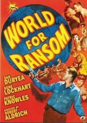£2.50 • Buy  World For Ransom 1954 DVD Dan Duryea/Patric Knowles  Free Postage!