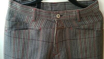 £25 • Buy Marite Francois Girbaud Men Jeans/Trousers Stripped Chequered Quirky