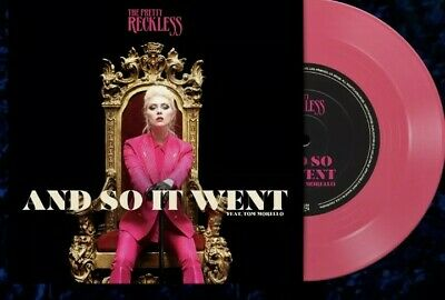 £29.99 • Buy The Pretty Reckless - And So It Went 7  Opaque Pink Vinyl Presale