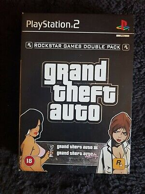 £3.30 • Buy Grand Theft Auto Double Pack Play Station 2. GTA 3, Vice City