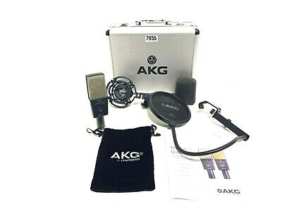 £514.06 • Buy AKG C414 5059X00050 Reference Multi-Pattern Condenser Mic #7956 (One)