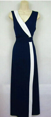 £28 • Buy New PHASE EIGHT Mirabelle Maxi Blue Long Evening Dress Size 14