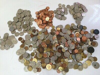 £28 • Buy 2.95 KG Bundle Of Coins Foreign And Domestic Current Retired Numismatist #115