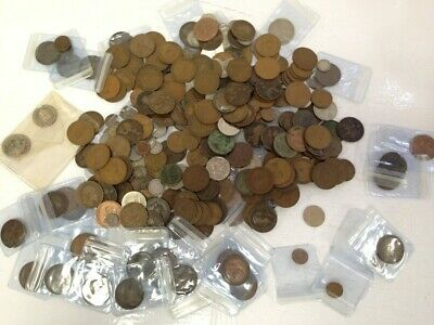 £9.99 • Buy 2.4KG Job Lot Bundle Of Coins Foreign And Domestic Old And New See Pics #115