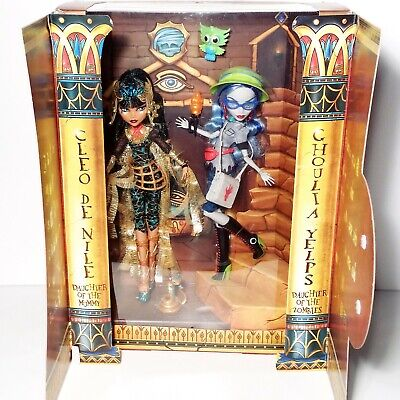 £247.79 • Buy Monster High SDCC Cleo De Nile & Ghoulia Yelps Comic Con Exclusive Mattel NEW