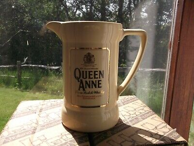 £12.49 • Buy Nice Queen Anne Scotch Whisky Bar Or Pub Water Jug/Pitcher By Wade PDM Pottery