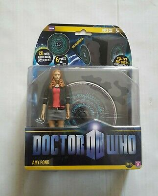£17.99 • Buy Doctor Who AMY POND (red Top) PANDORICA CD Action Figure (NEW /Factory Sealed)
