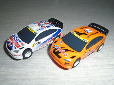 £20 • Buy Micro Scalextric FORD FOCUS Cars X 2.  1:64 Scale.  ***FREEPOST***