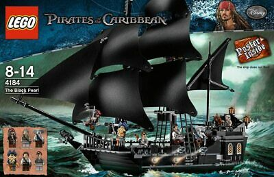 £579.99 • Buy LEGO Pirates Of The Caribbean 4184 The Black Pearl - Brand New In Sealed Box