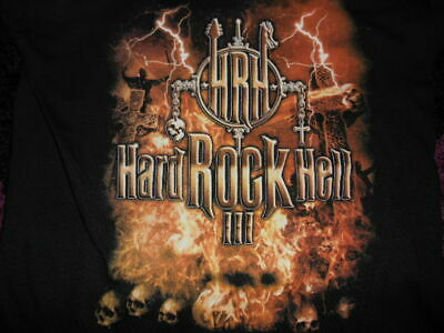 £9.99 • Buy HARD ROCK HELL 3 2009 OFFICIAL FEST TOUR  T- SHIRT SIZE S 36 INCH  ,metal,WASP