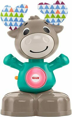 £18.40 • Buy Fisher-Price GHR20 Linkimals Musical Moose, Interactive Baby Toy Multicolor
