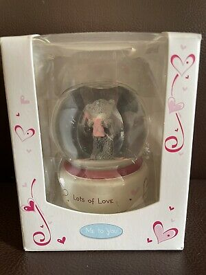 £1.10 • Buy Me To You Bear Lots Of Love Snowglobe