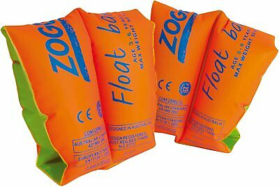 £11.28 • Buy Zoggs Swimming Aid Children's Float Arm Bands 1-3 Years (Up To 15 Kg), Orange