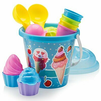 £19.99 • Buy Kids Beach Toys Set With Bucket Pail And Spade
