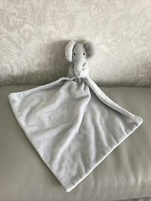 £29.99 • Buy Mothercare Snuggle Elephant Elly Grey Comforter Grey Soft Toy