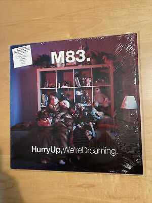 $140 • Buy M83 – Hurry Up, We're Dreaming Vinyl (Pink / Blue Urban Outfitters Exclusive)