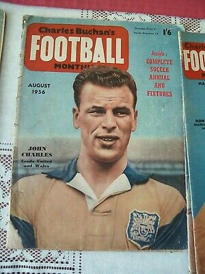 £1 • Buy Charles Buchan's Football Monthly - August 1956
