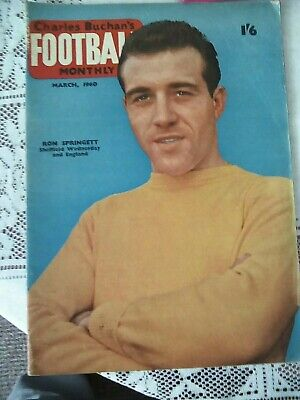 £1 • Buy Football Monthly Charles Buchan March 1960