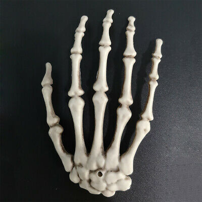 £3.89 • Buy New 1 Pair Horror Skeleton Hands Fake Finger Bone Party Scary Hanging Prop Hot