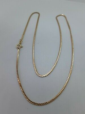 £160 • Buy 9ct Gold Chain S Link Length 20 Inches Hallmarked