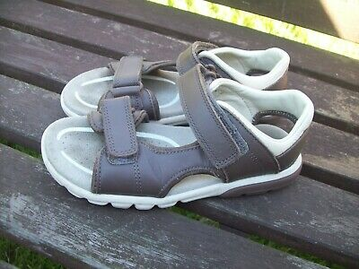 £5.99 • Buy Boys Clarks Rocco Wave, Brown Leather Sandals, Size 12