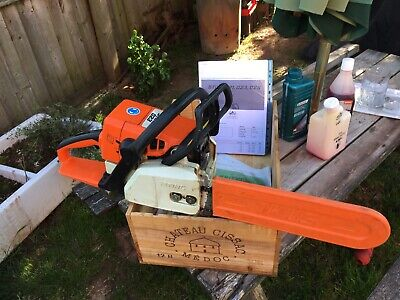 """£145 • Buy Stihl 023 Petrol Chainsaw 14"""" Bar And Chain With Oils & Manual - Herefordshire"""