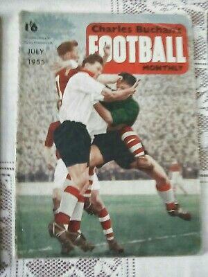 £1 • Buy Football Monthly Charles Buchan July 1955