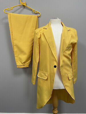 £18 • Buy The Mask Yellow Suit XL - Ex Hire Fancy Dress Costumes Film Movie Character