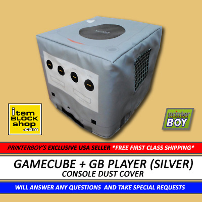 £14.51 • Buy Nintendo GameCube + GameBoy Player Silver Console Dust Cover VINYL