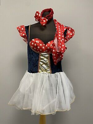 £15 • Buy Sexy Red, White & Blue Minnie Mouse Spotty Dress Size 14 Cosplay Fancy Dress